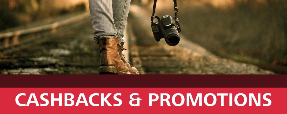 Camera Centre Autumn Cashbacks & Promotions 2019