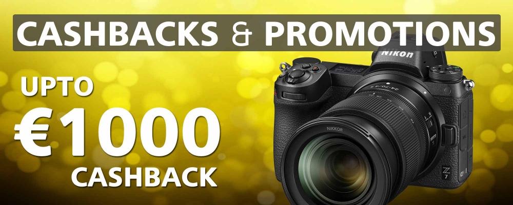 Cashback & Promotions