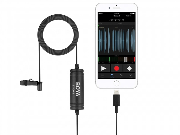 Boya BY-DM1 Digital Lavalier Microphone
