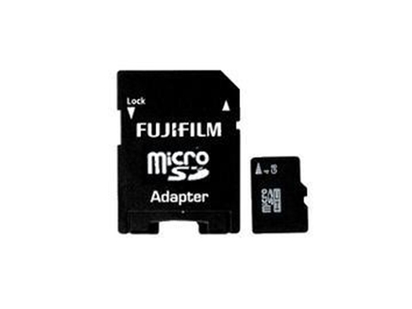 Fujifilm 8Gb Micro SD + Adaptor
