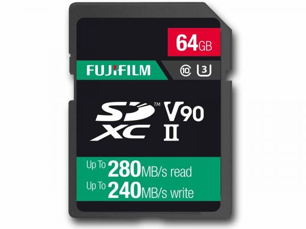 Fujifilm 64Gb UHS ll V90 Pro Card (280/240MB/s)