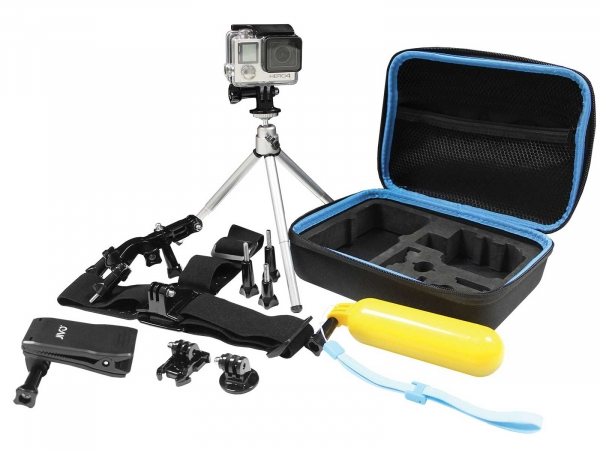 Jivo Go-Gear 6 In 1 Action Camera Accessory Kit