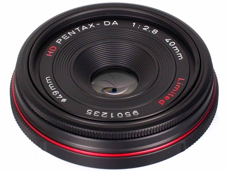 Pentax 40mm f/2.8 Limited HD